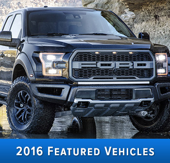 2016 Featured Vehicles